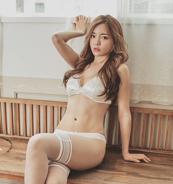 Jin Hee - Lingerie Set - very cute asian girl - girlcute4u.blogspot.com (2)