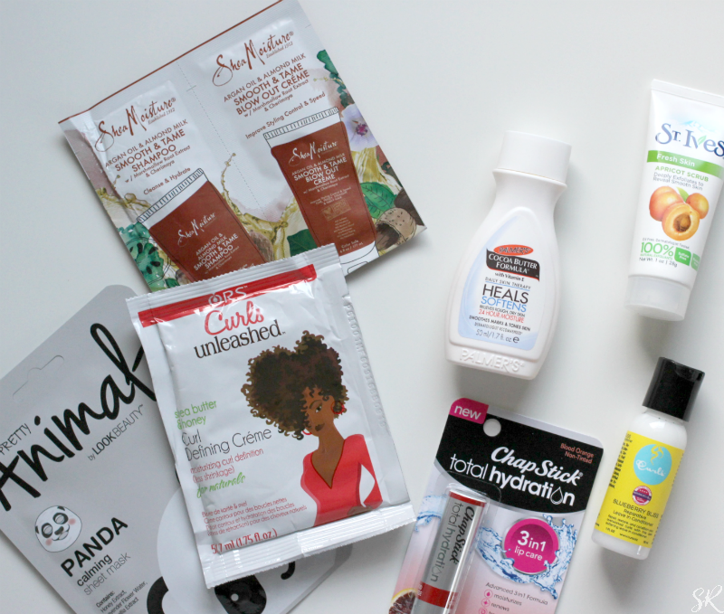 September Target Beauty Box Total Hydration - Perfect for Natural