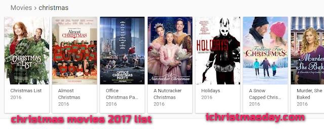 christmas movies 2016