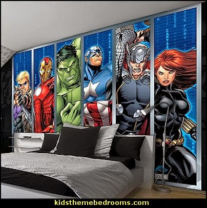 Superhero bedroom ideas - Superhero themed bedrooms - Superhero room decor - superhero bedroom decorating ideas - Decorating ideas Avengers rooms - superhero wall murals - marvel bedroom ideas - Superhero Bedroom Ideas for Girls - Bat girl bedrooms - Wonder woman decor - vintage superhero room decor -  Comic Book bedding - DC Comics Justice League bedrooms - Superheroes bedroom ideas