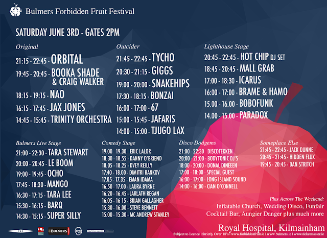 Forbidden Fruit Festival 2017 Saturday