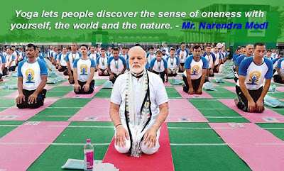 Yoga lets people discover the sense of oneness