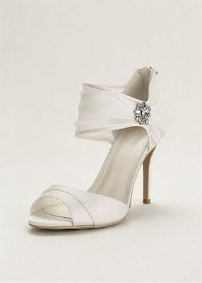 Zapatos blancos para señoritas