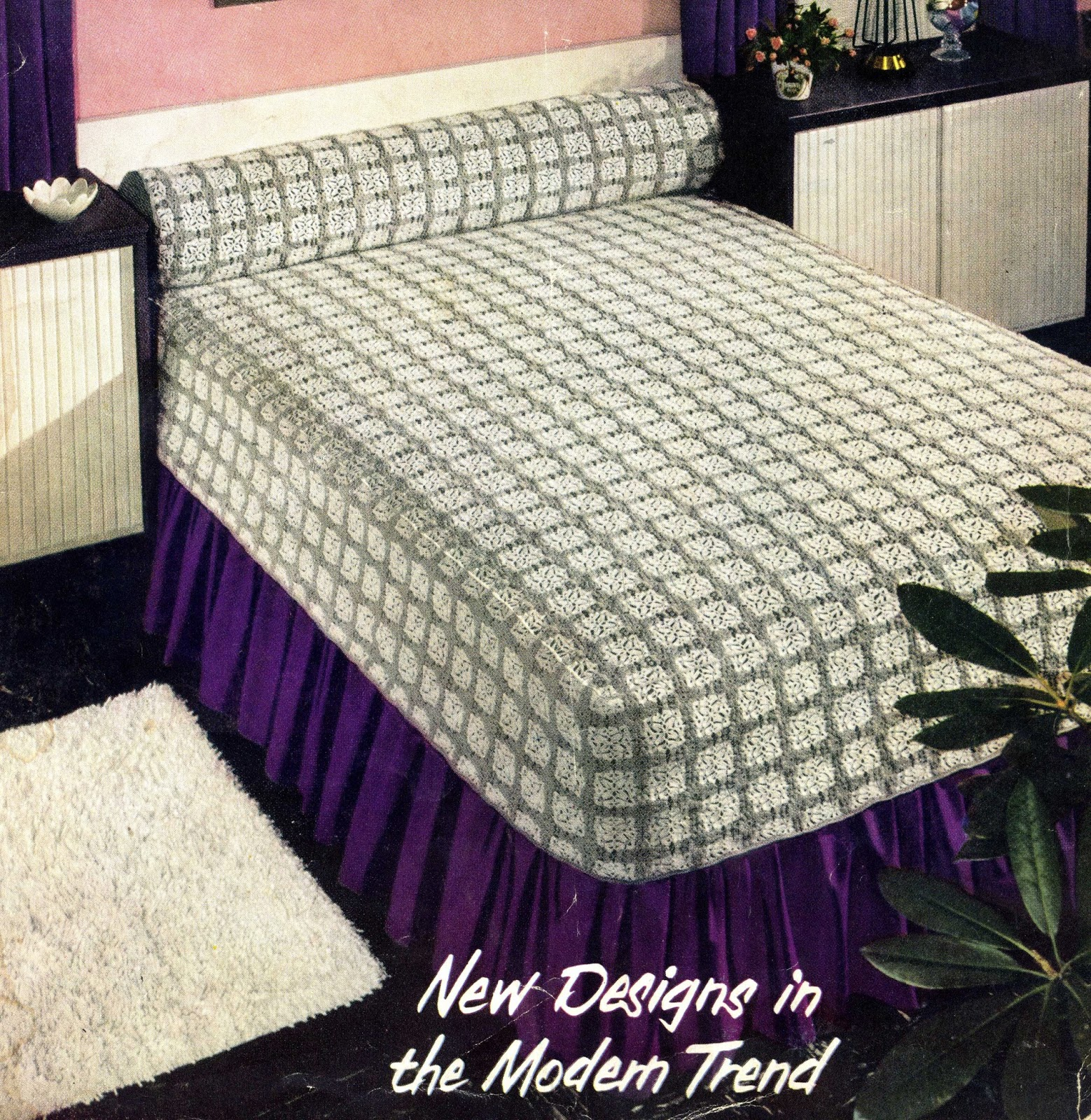Donnas crochet designs blog of free patterns maryland modern here is my latest free pattern from my collection it is a crochet pattern for this lovely bedspread it is called maryland modern bedspread bankloansurffo Images