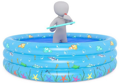 Cara Memompa Kolam Renang Mainan Anak