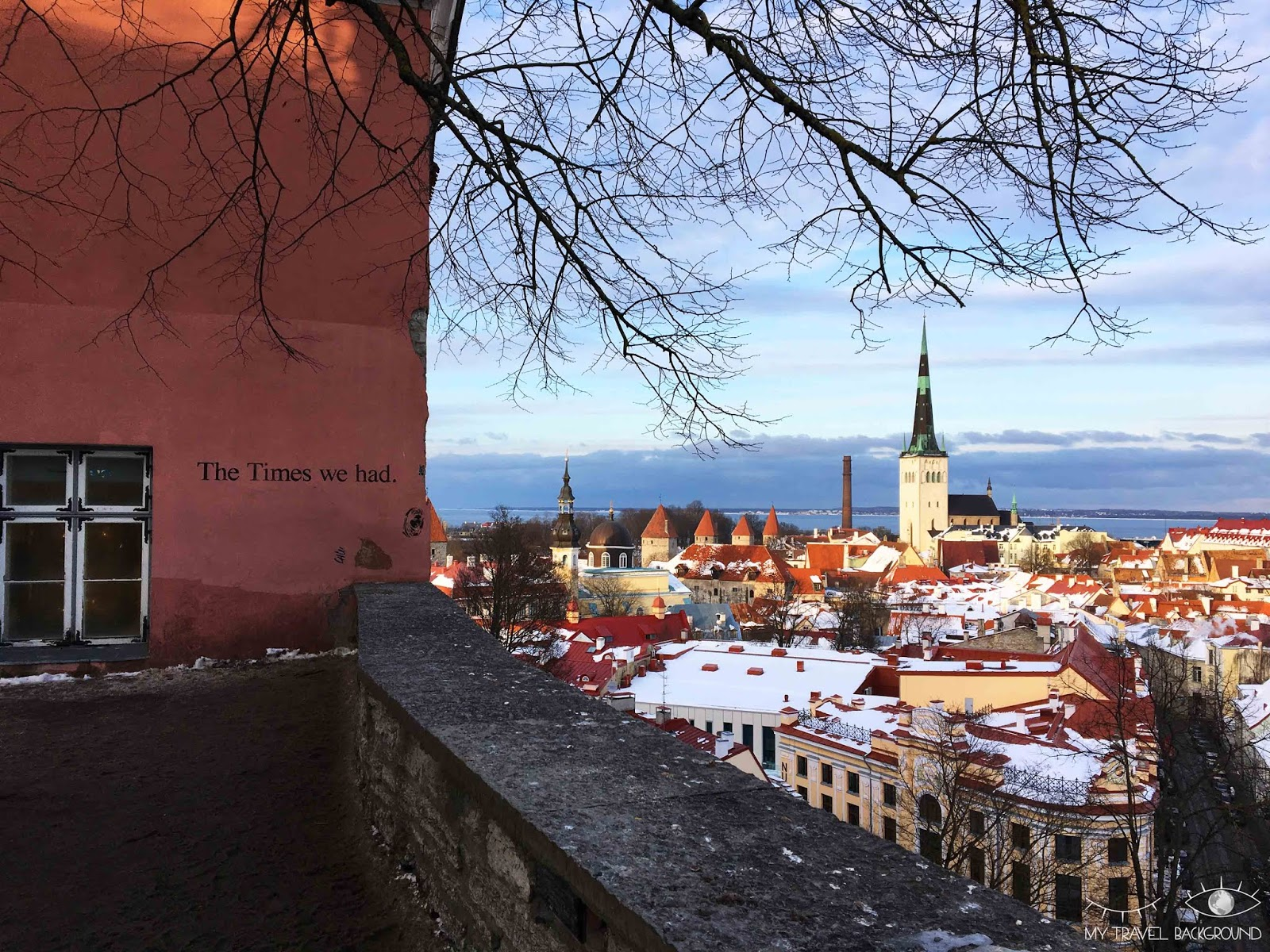My Travel Background : carte postale d'Estonie - Tallinn
