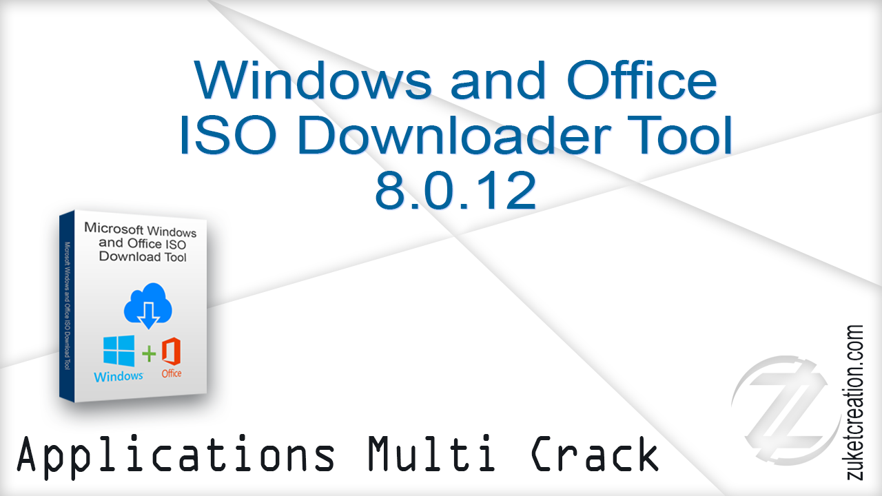 Aplikasi Cracked: Windows and Office ISO Downloader Tool 8 0