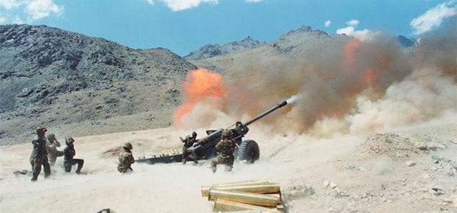 Indian Soldiers Firing During Kargil War, Kargil Vijay Diwas, Kargil Vijay Divas Picture
