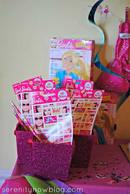 Barbie Birthday Party Goody Bag Ideas, from Serenity Now