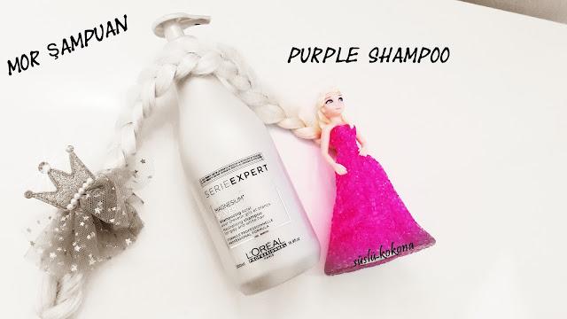 Loreal Silver Shampoo - purple shampoo