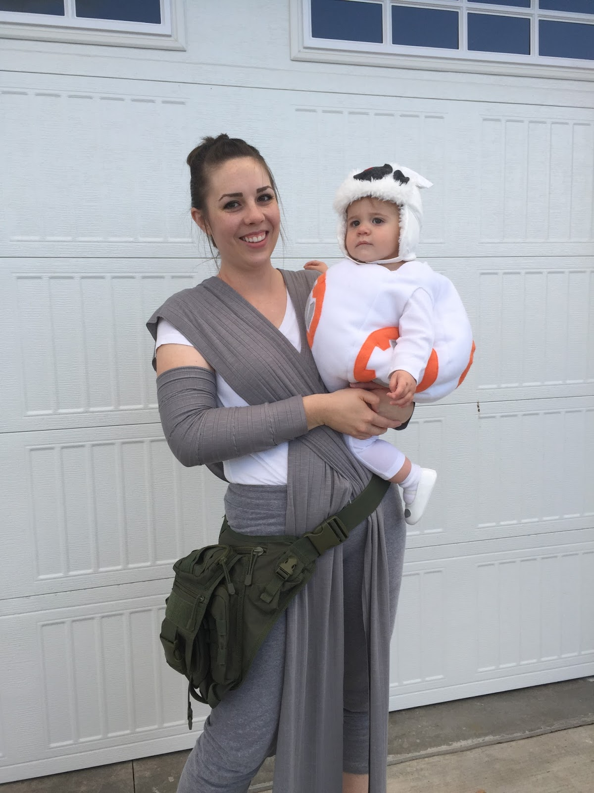 I Chose To Be Rey Because Shes So Bad A And Has Brown Hair Bought 2 Yards Of Jersey Fabric Cut Down On Costs It Into Two