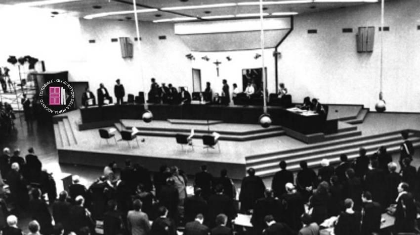 L'aula bunker nella quale si è tenuto il maxi-processo alla mafia