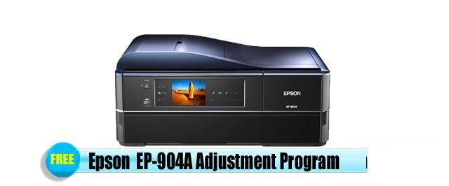 Epson EP-904A Adjustment Program