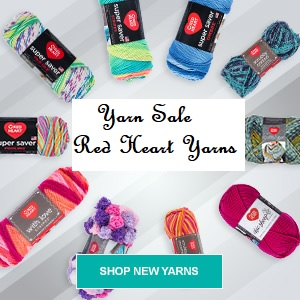 Red Heart Yarn on Sale