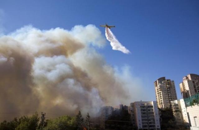 Ini Penyebab Kebakaran Hebat di Israel
