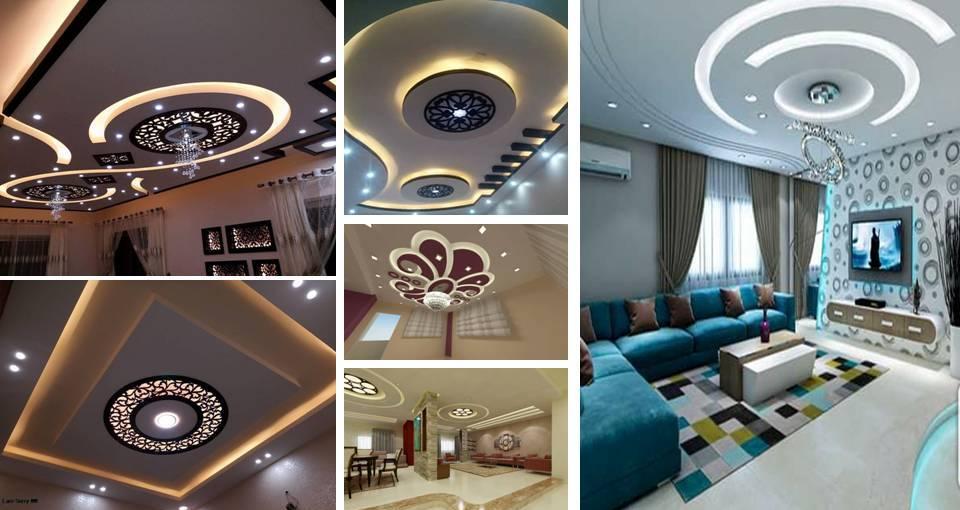 22 Contemporary Modern CNC False Gypsum Ceiling Decorating Ideas ...