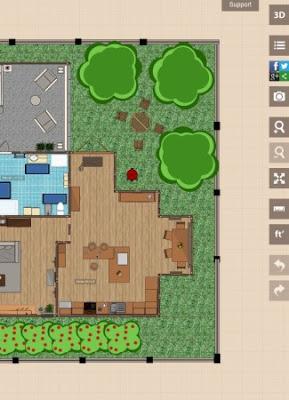 Aplikasi desain rumah interior eksterior di windows 10