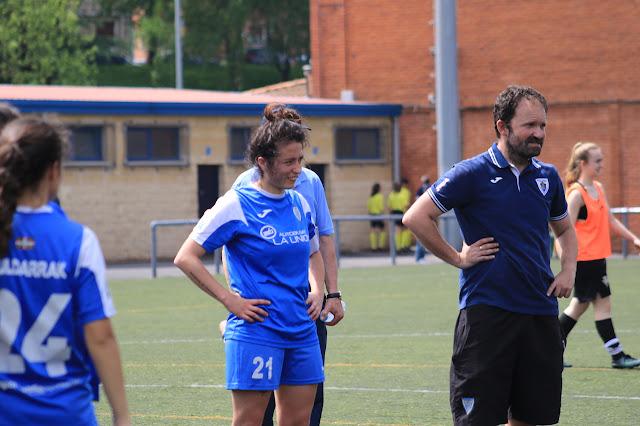 Iñaki Alonso, entrenador del Pauldarrak