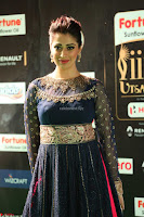 Raai Laxmi in Beautiful Backless Designer Anarkali Gown at IIFA Utsavam Awards 2017  Day 2  Exclusive 46.JPG