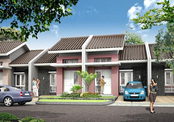 model rumah cluster 3