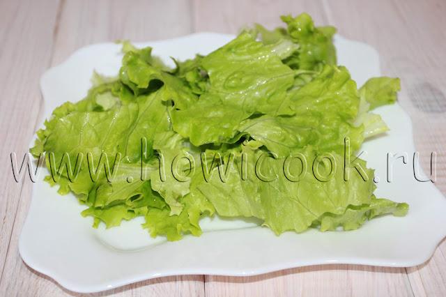 рецепт простого салата с луком с пошаговыми фото