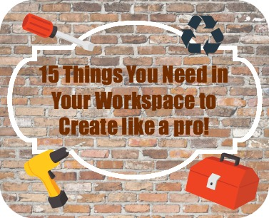 15 Supplies You Need to Create
