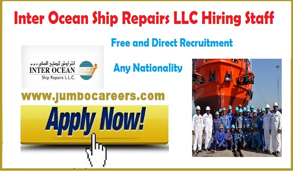 Shipping jobs with free direct recruitment in Dubai, Latest Dubai jobs 2018,