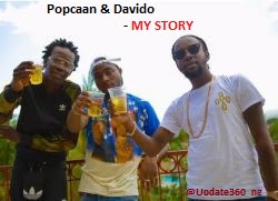 "PHOTO: Popcaan x Davido- ""My Story"""