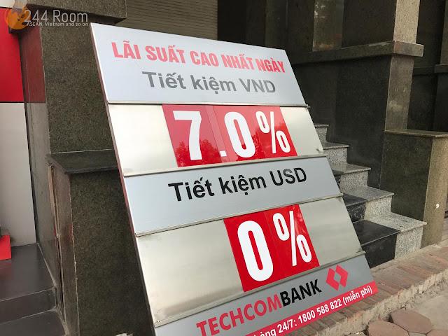 Bank interest rate VN ベトナムの預金金利