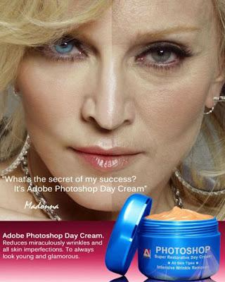 Lustige Bilder Promis - Madonna ohne Schminke