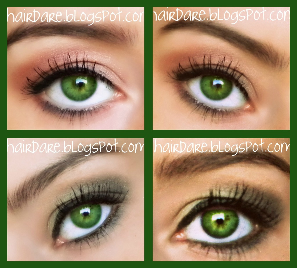 Hair Dare: Green Eyed Goddess
