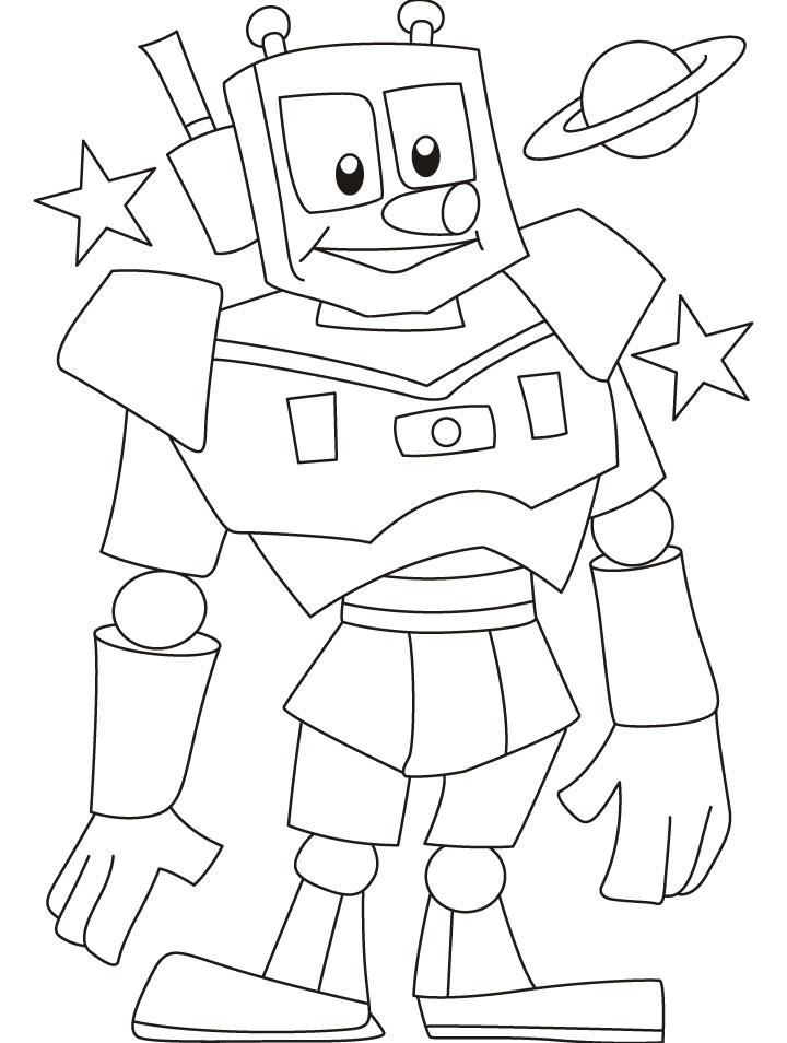 Lukisan Robot Simpel Cikimm Com