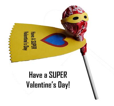 super hero valentine