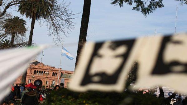 Liberan a personas detenidas en acto por Santiago Maldonado en Argentina
