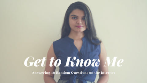 Get to Know Me: Answering 10 Random Questions on the Internet
