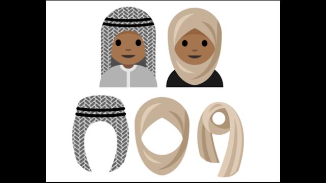 اقتراح من فتاة سعودية لرموز تعبيرية مرتدية للحجاب لهيئة يونيكود