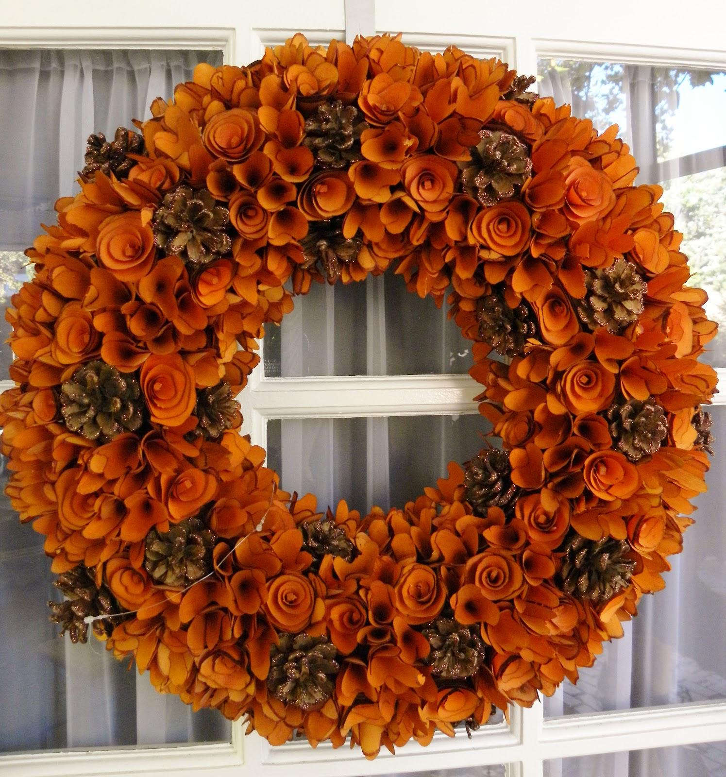 Helen Olivia Flowers Fall Wreaths