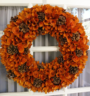 Helen Olivia Flowers Fall Wreaths