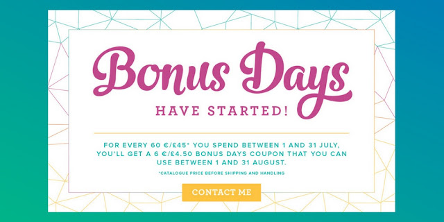 Stampin' Up! Bonus Days Promotion July 2017 Order Stampinup Card Making Paper Craft Supplies with Mitosu Crafts 1