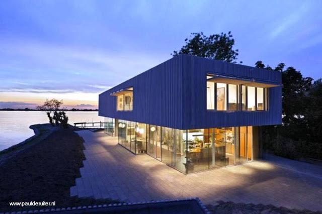 Casa contemporánea holandesa
