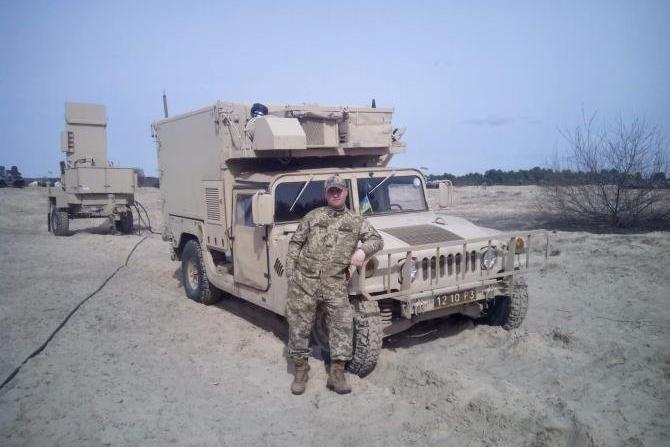HMMWV AN/TPQ-36 М1097 1210 Р3