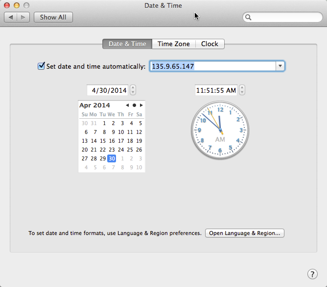 Fix Network Time Drift on your Mac | OS X & iOS Tips & Tricks