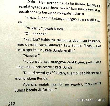 download novel Dilan Milea