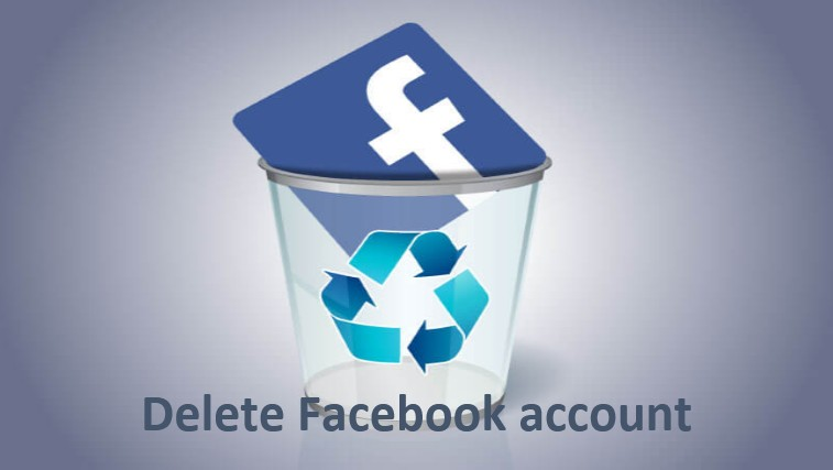 How to delete your Facebook account in English, delete your Facebook, Facebook account