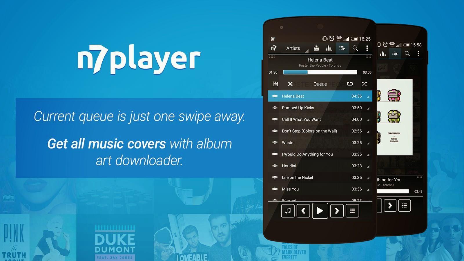 n7player Music Player (Premium) v 2 4 6 APK Download   APK Jar