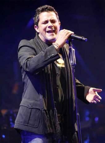 Foto de Alejandro Sanz en el escenario