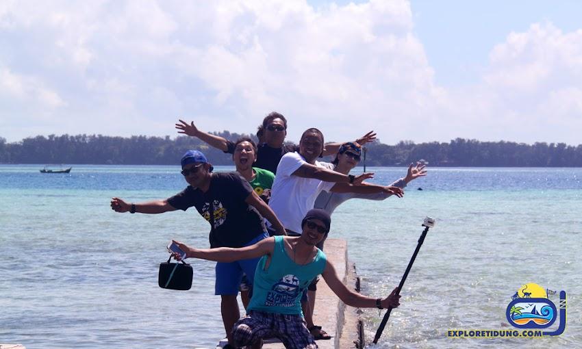 wisata pulau dan tema pantai pulau tidung