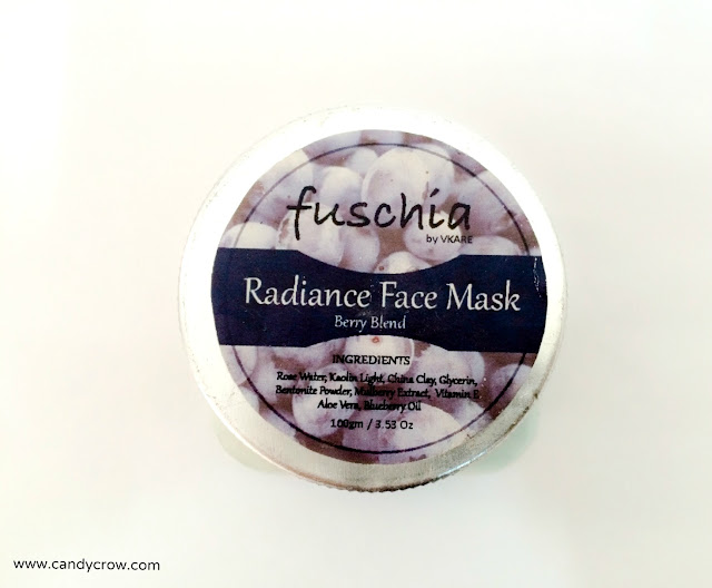 Fuschia Radiance Face Mask Review