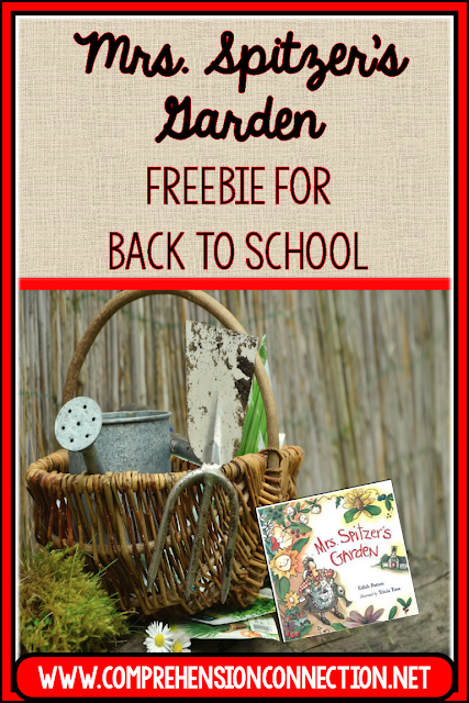 Mrs. Spitzer's Garden is a wonderful book to inspire both teachers and students. Check out this post for how to use it and other great titles to start your year off right. FREEBIE INCLUDED