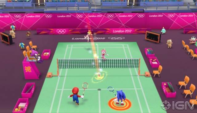 Mario y Sonic At The London 2012 Olympic Games Wii NTSC Descargar Español [PAL]